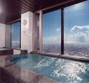オークラアクトシティホテル浜松 展望浴場