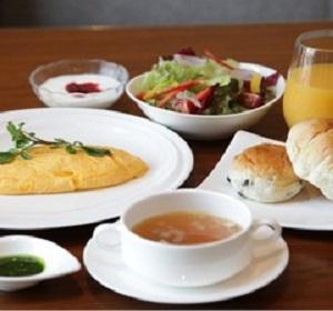 東京第一ホテル米沢(朝食一例)