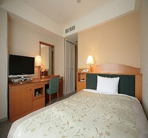 東京第一ホテル錦(客室一例シングル)