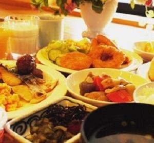 ホテルルートイン博多駅南(朝食一例)