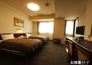 ホテルルートイン第二長野・客室一例