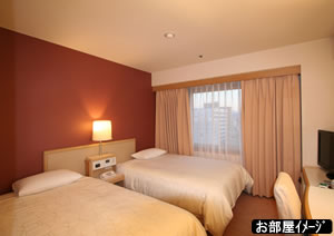 東京第一ホテル松山_部屋タイプ2