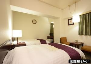 上田プラザホテル(客室一例)