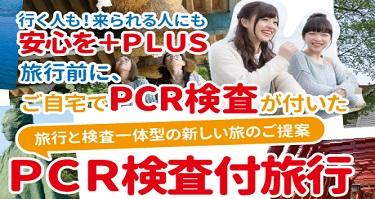 PCR検査付ツアー