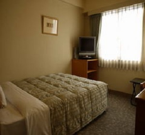 ホテルルートイン熊本 客室一例(シングル)